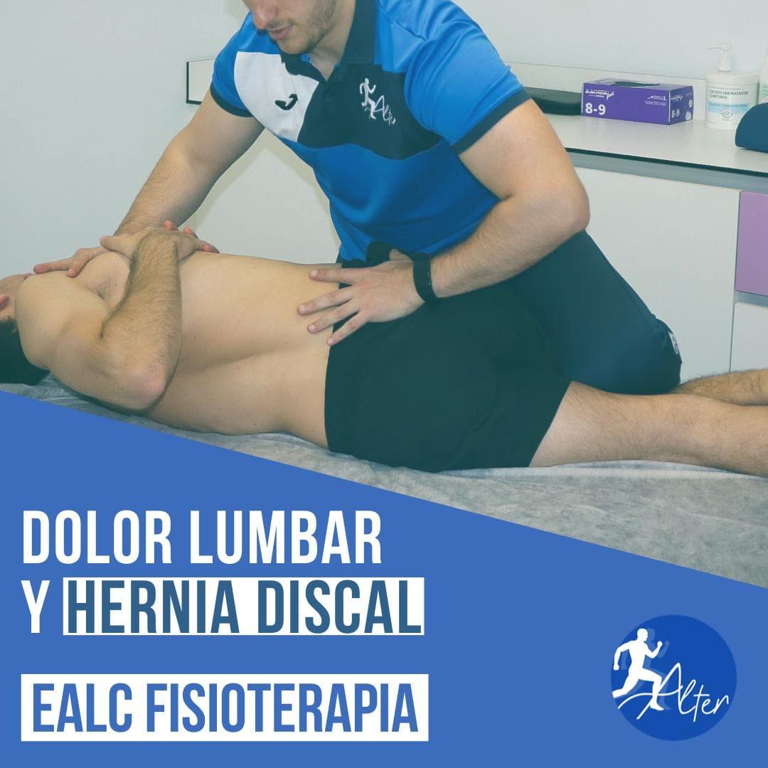 Imagen Dolor lumbar y hernia discal