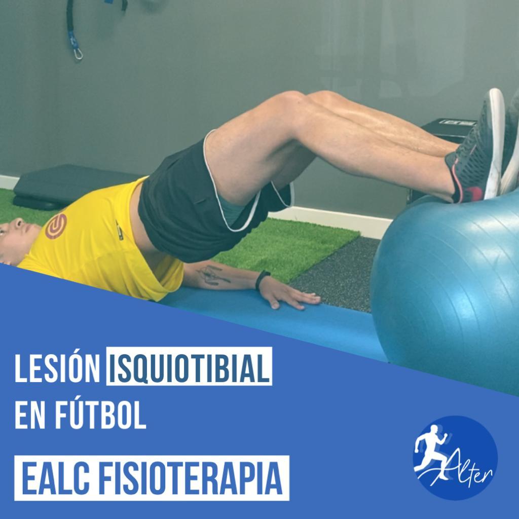 Imagen Lesión isquiotibial en fútbol