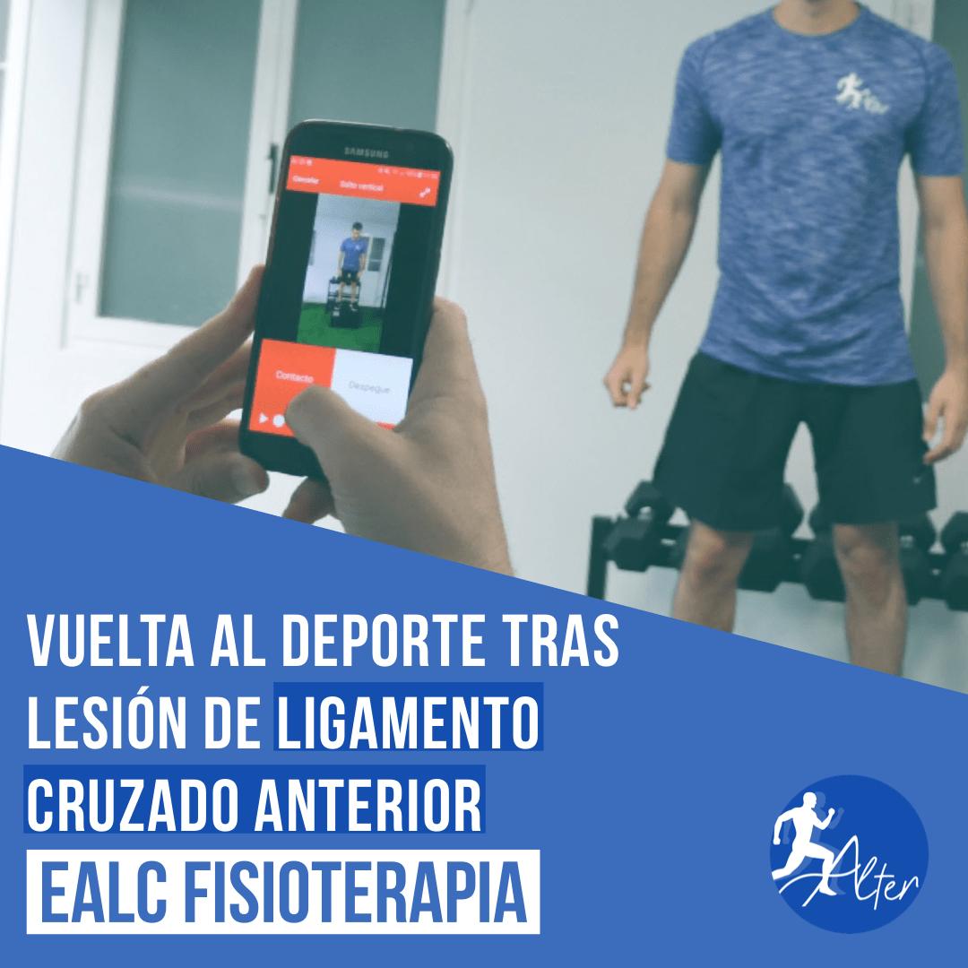 Imagen Vuelta al deporte tras lesión de ligamento cruzado anterior