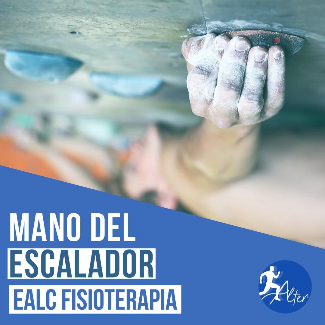 Imagen Mano del escalador