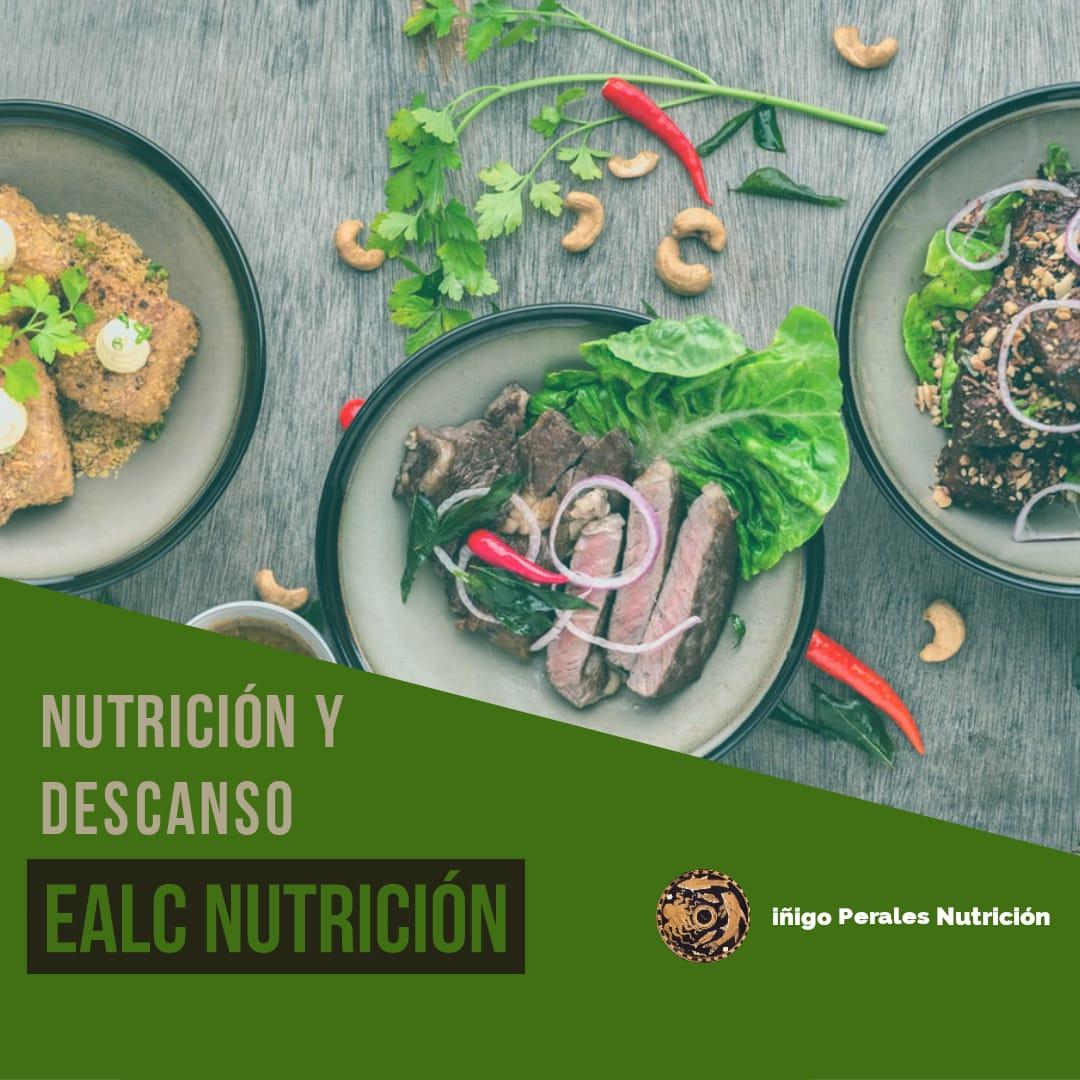 Imagen Nutrición y descanso